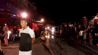 TP Thanh Hóa: Nhiều căn nhà bùng cháy lớn trong đêm 11