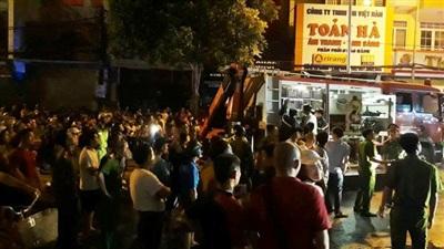 TP Thanh Hóa: Nhiều căn nhà bùng cháy lớn trong đêm 13