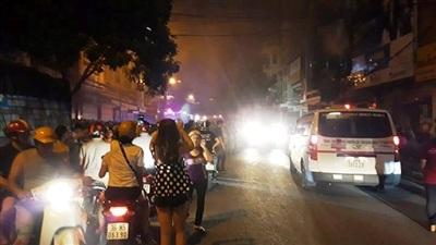 TP Thanh Hóa: Nhiều căn nhà bùng cháy lớn trong đêm 9