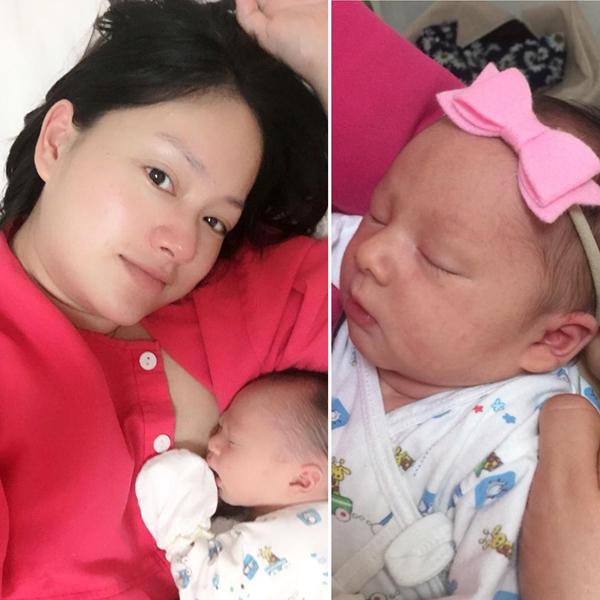 Lộ diện con gái đầu lòng của diễn viên Lan Phương và chồng Tây