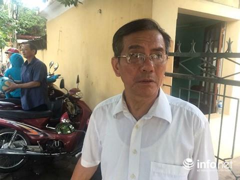 Ông Đinh Văn Tính, bố đẻ của nạn nhân Đinh Thị Thu Hằng.