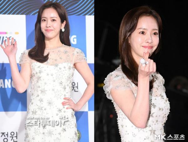 Vốn là nữ thần sắc đẹp, trẻ mãi không già nổi tiếng của màn ảnh Hàn, Han Ji Min lại khiến người hâm mộ bất ngờ trong lần đi thảm đỏ lần này bởi gương mặt lộ dấu vết tuổi tác rõ rệt