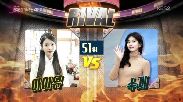 IU và Suzy đứng ở hạng 51