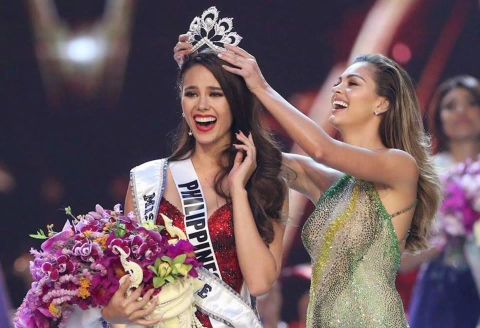 Người đẹp 24 tuổi Catriona Gray đã giành vương miện Miss Universe lần thứ 67.