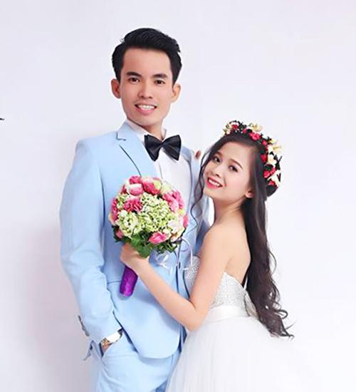 Y Phụng và Minh Chung trong bộ ảnh cưới.