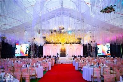 Đàm Vĩnh Hưng xuất hiện trong đám cưới với sân khấu được đầu tư 5 tỷ đồng ở Hưng Yên 5