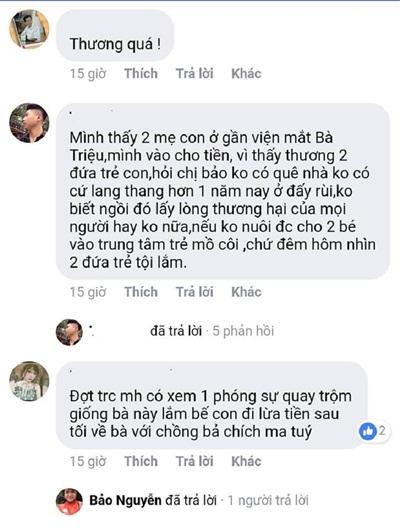 Hình ảnh 3 mẹ con co ro nằm ngoài vỉa hè Hà Nội và cuộc 'bóc phốt' rầm rộ của cư dân mạng 2