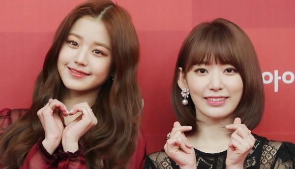 Jang Won Young và Miyawaki Sakura đọ sắc trong cùng một khung hình