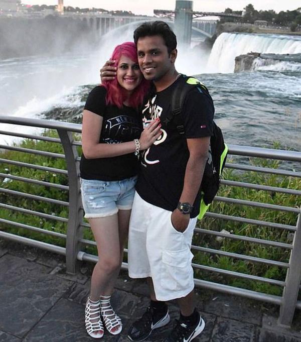 Cặp đôi xấu số đã tử vong vì rơi xuống từ đỉnh của vách đá