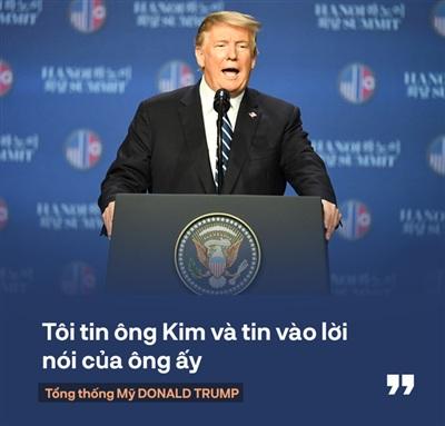Tổng thống Trump: 'Mối quan hệ Mỹ - Triều Tiên rất mạnh mẽ, nhưng đôi lúc bạn phải học cách bỏ qua' 0