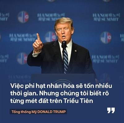 Tổng thống Trump: 'Mối quan hệ Mỹ - Triều Tiên rất mạnh mẽ, nhưng đôi lúc bạn phải học cách bỏ qua' 1