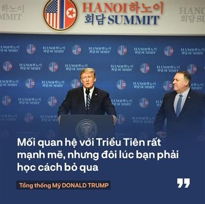 Tổng thống Trump: 'Mối quan hệ Mỹ - Triều Tiên rất mạnh mẽ, nhưng đôi lúc bạn phải học cách bỏ qua' 2