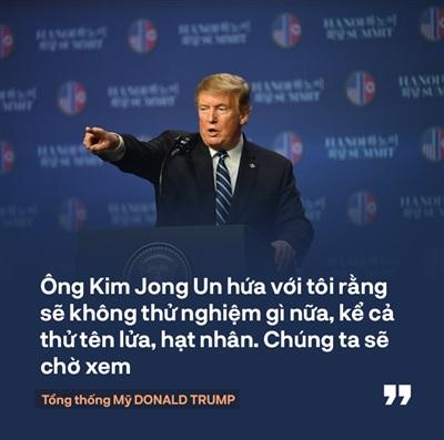 Tổng thống Trump: 'Mối quan hệ Mỹ - Triều Tiên rất mạnh mẽ, nhưng đôi lúc bạn phải học cách bỏ qua' 7