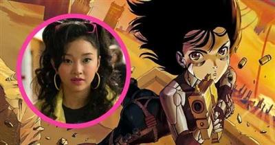 Tạo hình của Lana Condor trong phim X-Men.