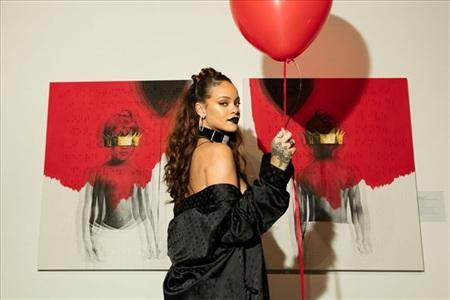Lần gần nhất Rihanna phát hành album là năm 2016.