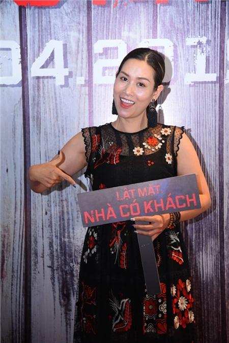 'Chị Nguyệt' Hà Hương vô cùng ngóng chờ sự tái xuất của đạo diễn Lý Hải trên màn ảnh rộng.