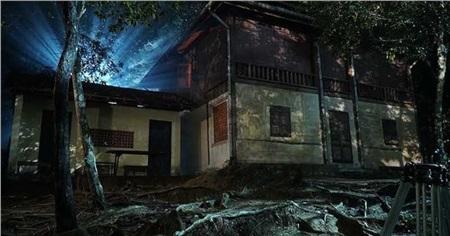 Ngôi nhà hoang được lựa chọn làm bối cảnh