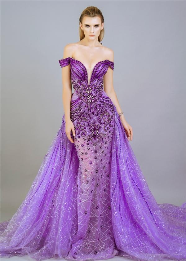 Những mẫu váy dạ hội đính kết giúp bạn gái khoe triệt để vẻ đẹp cơ thể 1