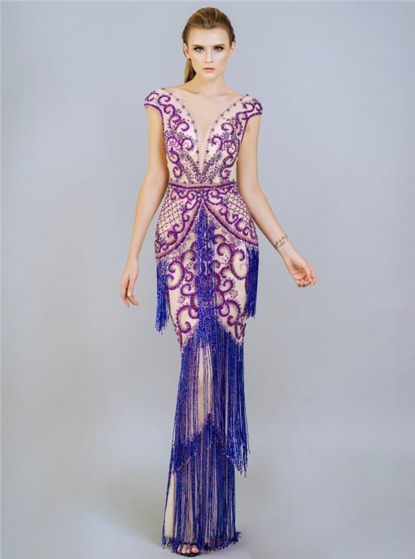 Những mẫu váy dạ hội đính kết giúp bạn gái khoe triệt để vẻ đẹp cơ thể 3