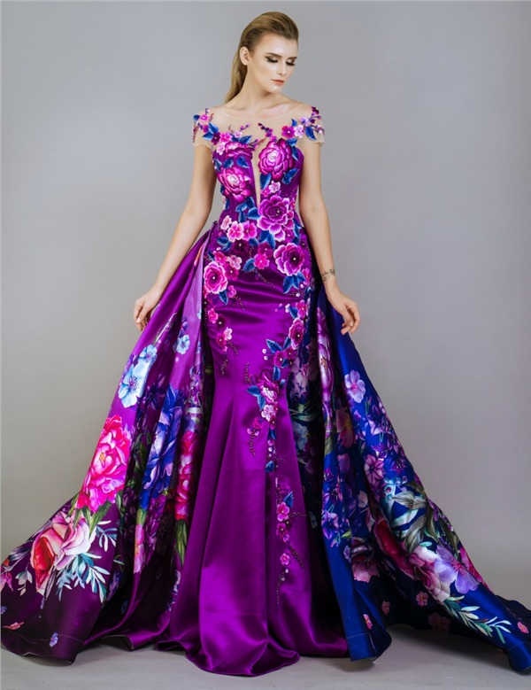 Những mẫu váy dạ hội đính kết giúp bạn gái khoe triệt để vẻ đẹp cơ thể 9
