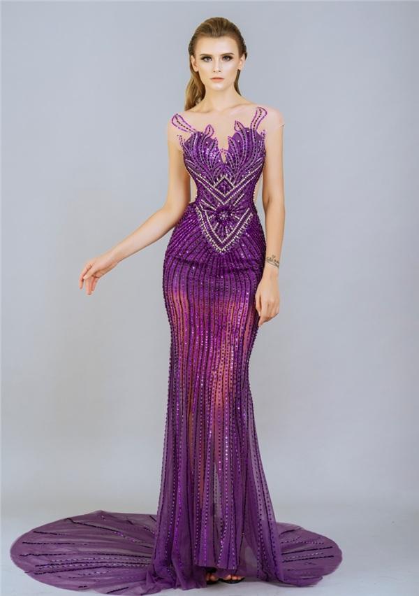 Những mẫu váy dạ hội đính kết giúp bạn gái khoe triệt để vẻ đẹp cơ thể 5