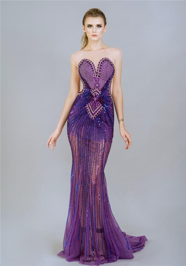 Những mẫu váy dạ hội đính kết giúp bạn gái khoe triệt để vẻ đẹp cơ thể 11