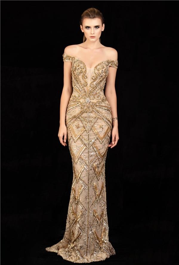 Những mẫu váy dạ hội đính kết giúp bạn gái khoe triệt để vẻ đẹp cơ thể 13