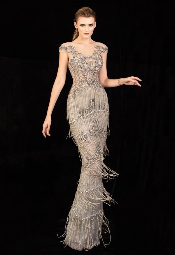 Những mẫu váy dạ hội đính kết giúp bạn gái khoe triệt để vẻ đẹp cơ thể 6