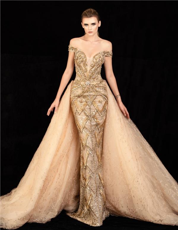 Những mẫu váy dạ hội đính kết giúp bạn gái khoe triệt để vẻ đẹp cơ thể 14
