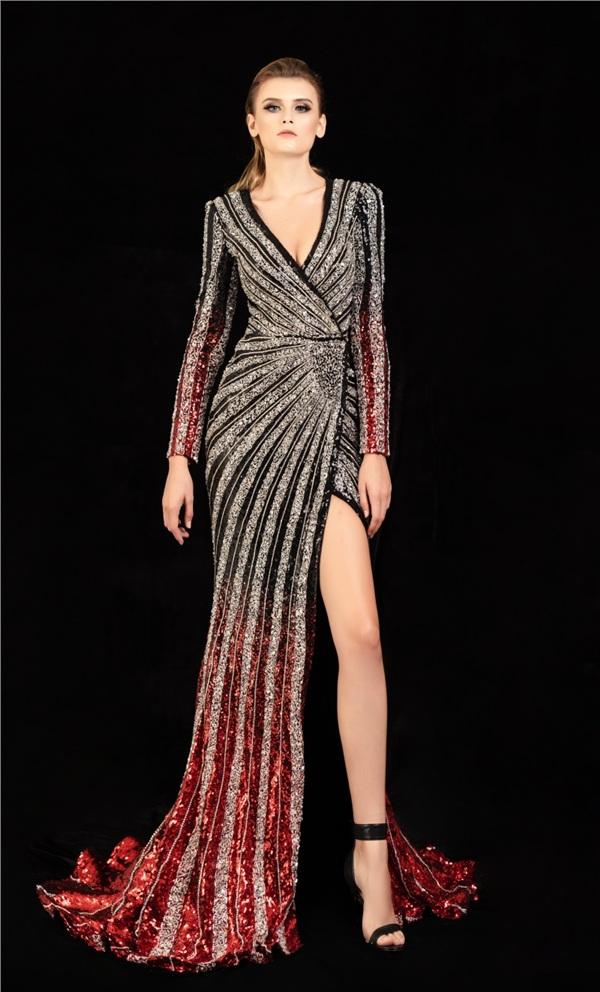 Những mẫu váy dạ hội đính kết giúp bạn gái khoe triệt để vẻ đẹp cơ thể 7