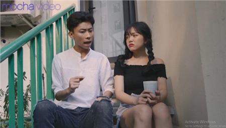 Ảo tưởng tuổi 17 (tập 6): Linh Ngọc Đàm vừa đi vừa khóc dưới mưa khi thấy crush và cô bạn thân 'Quỳnh búp bê nhí' tình tứ 6