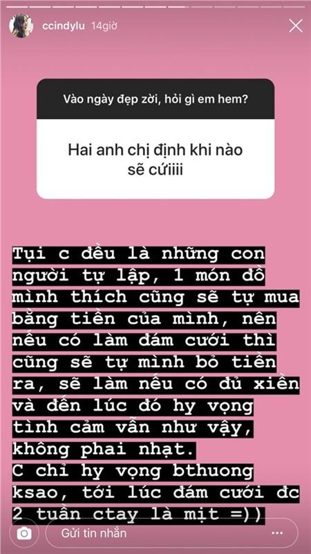 Fan hỏi khi nào cưới, bạn gái Hoài Lâm đáp: Cưới được 2 tuần chia tay thì mệt 0
