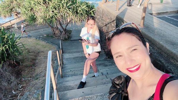 Chân dung cô con gái đang du học tại Úc của nữ MC Cát Tường 7