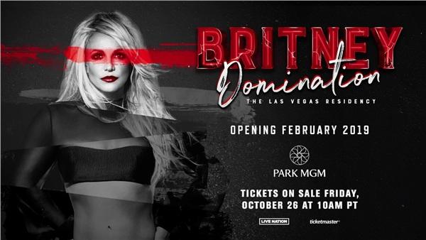 Chương trình Domination của Britney Spears bị hủy một cách khó hiểu hồi đầu năm.