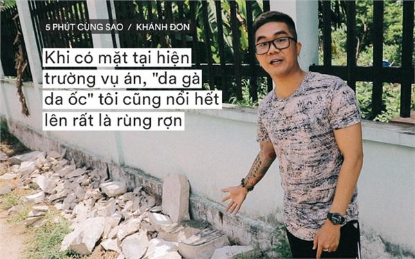Bị chỉ trích vì xuống hiện trường vụ 'bê tông xác người' quay clip, ca sĩ Khánh Đơn giải thích: 'Tôi không câu view' 0
