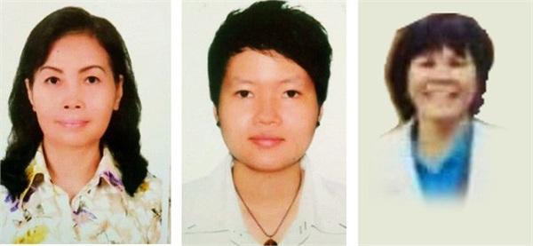 3 người phụ nữ đầu tiên được xác định có liên quan vụ án.