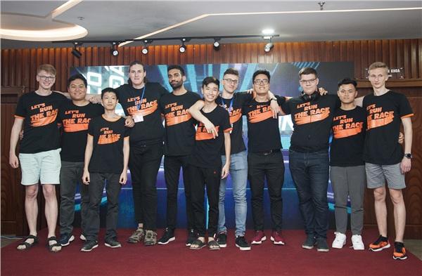 Đại diện các đội tham gia Cuộc đua số mùa 3.