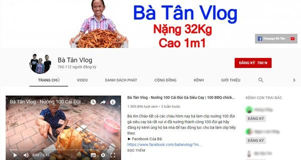 Kênh Youtube của Bà Tân Vlog chính thức nhận nút bạc chỉ sau thời gian ngắn xuất hiện.