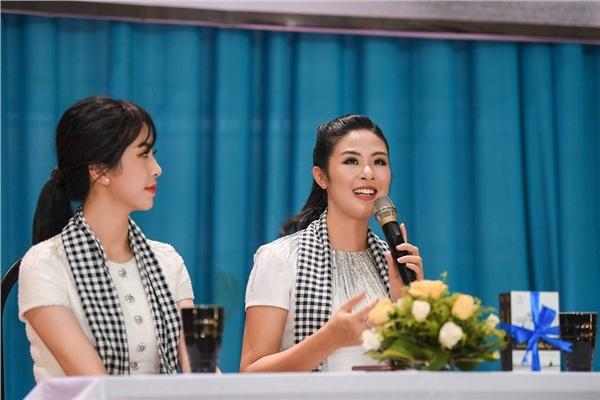 Hoa hậu Ngọc Hân chia sẻ về chính câu chuyện của mình với hy vọng giúp các bạn trẻ có cái nhìn đúng về ước mơ, đam mê