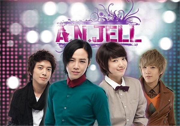 Nhóm nhạc A.N.JELL trong Cô nàng đẹp trai tạo nên cơn sốt năm 2009