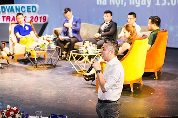 Các diễn giả,khách mời chia sẻ về cuộc thi Viettel Advanced Solution Track 2019.