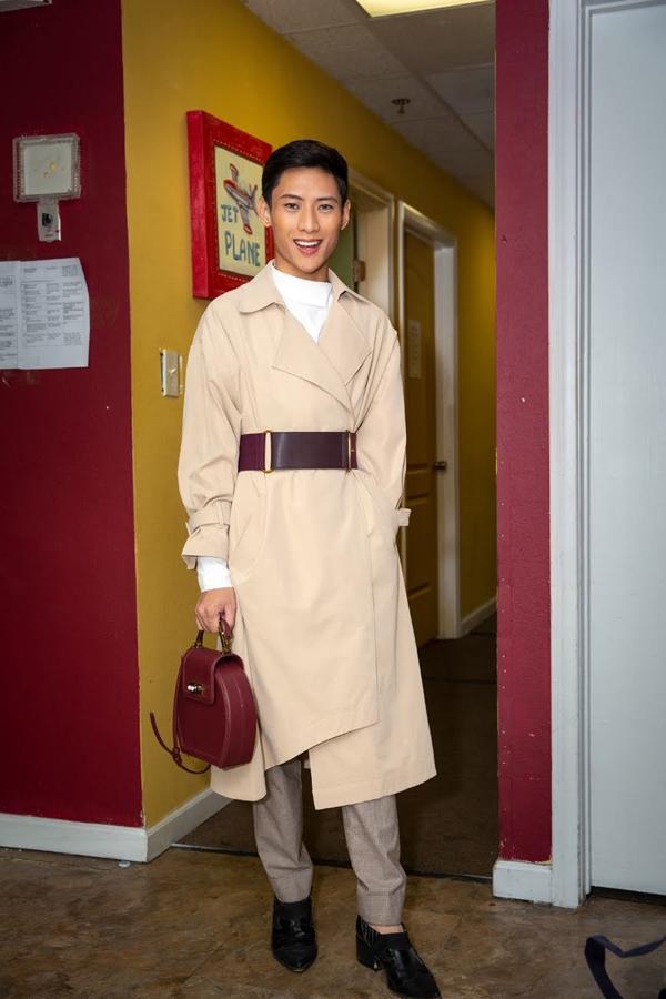 Thái Salew - nhà thiết kế kiêm stylist 9x Hà Nội được nhiều người biết đến.