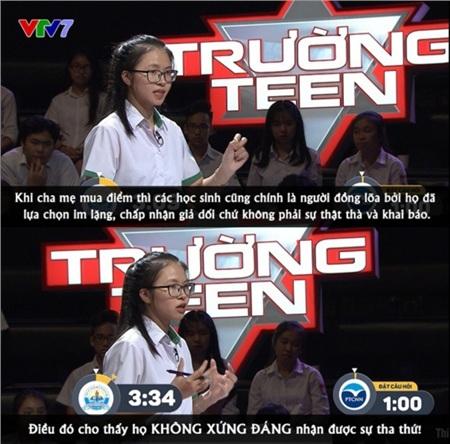 Phần phản biện của đội thi trường THPT chuyên Nguyễn Chí Thanh, Đăk Nông.