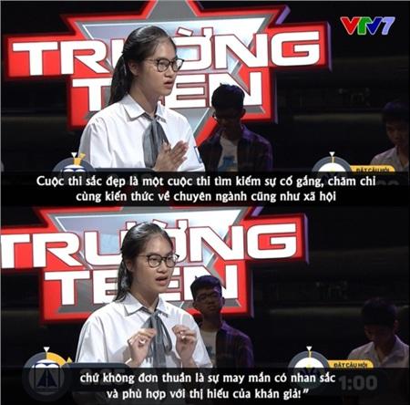 Nói về H'hen Niê và Đỗ Mỹ Linh, nam sinh có màn tranh luận 'Hoa hậu có cần bằng đại học không' giành trọn 30 điểm 3