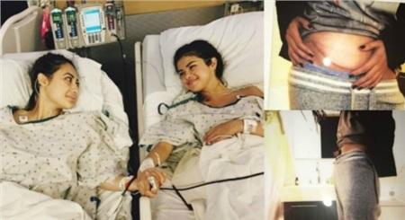 Selena từng được bạn thân Francia hiến thận cứu mạng.