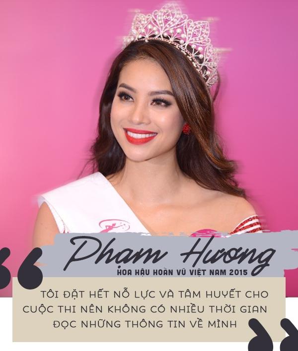 Ngay sau khi đăng quang, các nàng hậu Việt nói gì về tin đồn mua giải? 2