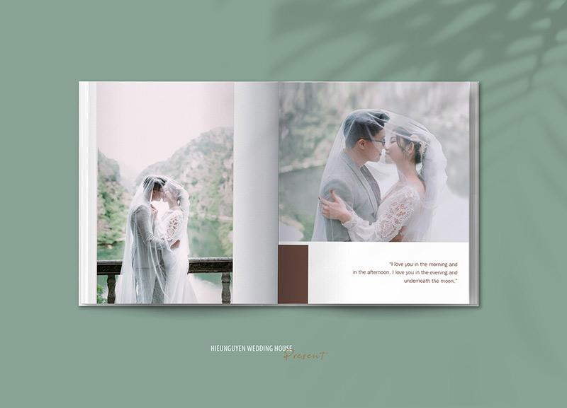 Trước khi cầu hôn, Lộc và Bích đã chụp ảnh cưới.