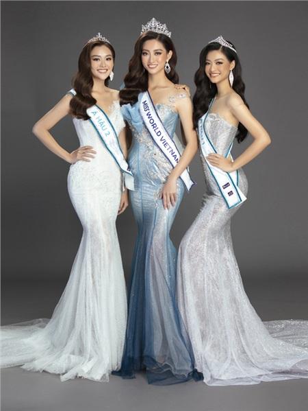 Top 3 Miss World Việt Nam 2019 'so kè' nhan sắc trong bộ ảnh mới 1