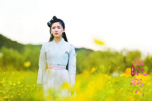 4 tạo hình cổ trang đẹp như hoa của 'Tiểu Xuân Hoa' Triệu Lộ Tư 8