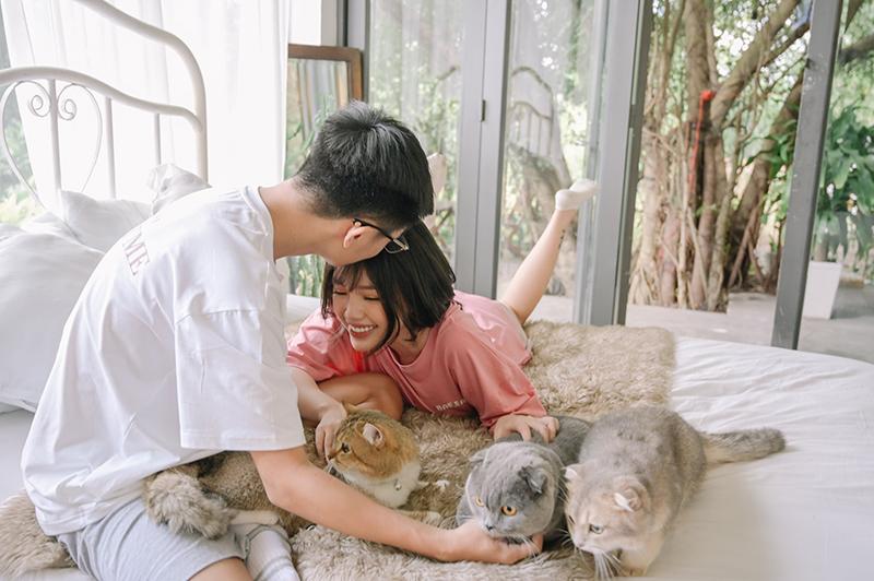 Hotgirl Linh Ngọc Đàm tung bộ ảnh tình yêu khiến người người 'tâm đắc': Lặng lẽ, giản đơn nhưng bình yên đến ngập trời 3
